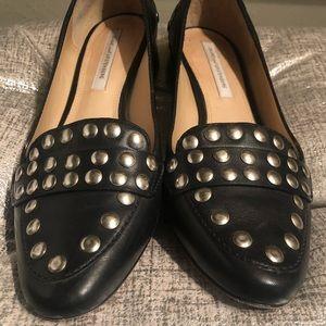 Diane Von Furstenberg Studded Loafers